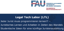 "Zum Artikel ""Legal Tech Labor"""
